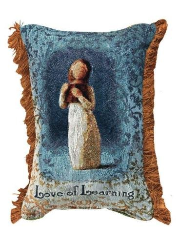 Love of Learning Word Pillow by Susan Lori, Willow Tree