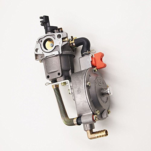 Saihisday Carb Dual Fuel Carburetor LPG Conversion Kit 6.5HP 7.5HP Engine Fits Generator GX200 170F