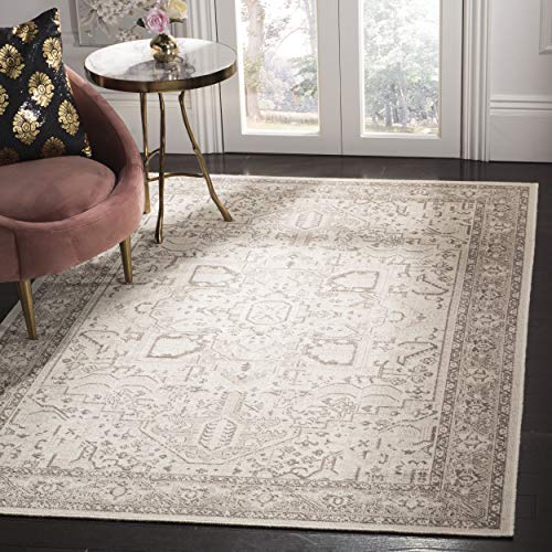 Safavieh ESS750A-3 Essence Collection Area Rug, 3' x 5', Natural/Taupe