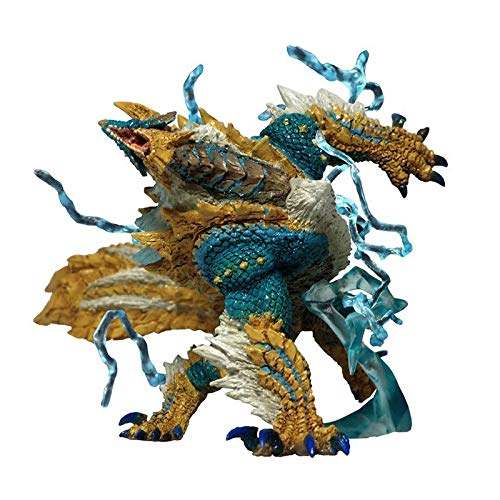 Yvonnezhang Monster Hunter World Generations Ultimate Zinogre Dragon Model Collections Monsters World Figura de accion Toy Kids