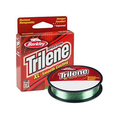 Berkley Trilene XL Smooth Casting Monofilament Service Spools (Berkley Trilene XL), 6 LB - Green (Test Green Fishing Line)