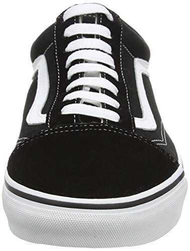 Skool Sneaker Black U Old Vans unisex adulto White An1gAv