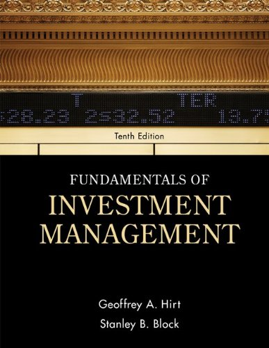 Fundamentals of Investment Management (McGraw-Hill…