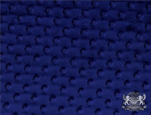 Minky Dimple Dot NAVY Fabric By the Yard by FABRIC EMPIRE   B0058EEFQ8