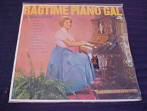 Ragtime Piano Gal by Jo Ann Castle Record Vinyl Album
