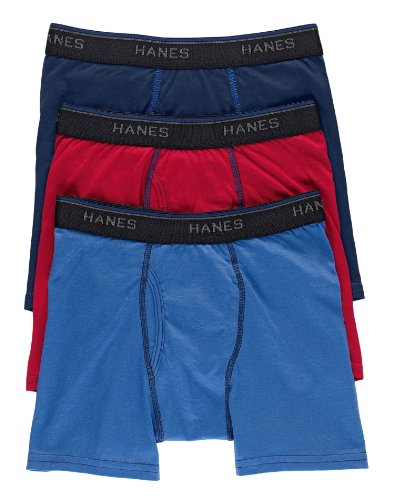Hanes Boys ComfortBlend® Boxer Brief 3-pack # B748AD