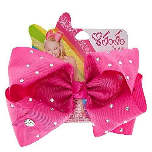 JoJo Siwa Large Cheer Hair Bow (Orchid Pink)
