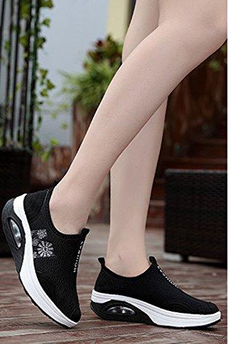 Schwarz 6 Sneaker Solshine Solshine donna Sneaker 8RXnqI