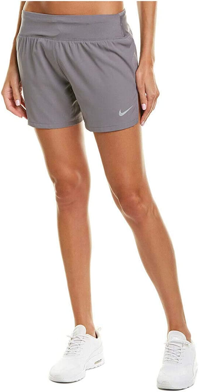 Nike Flex Women's Dri-Fit Running Shorts Grey BQ5927 056