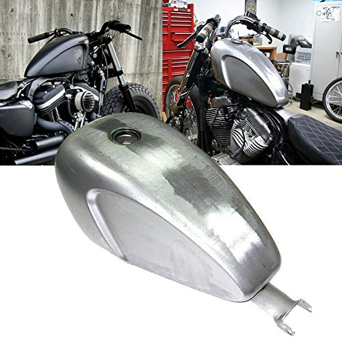 BBUT Deep Indented 3.3 GAL EFI Injected Fuel Gas Tank For Harley Sportster XL ()