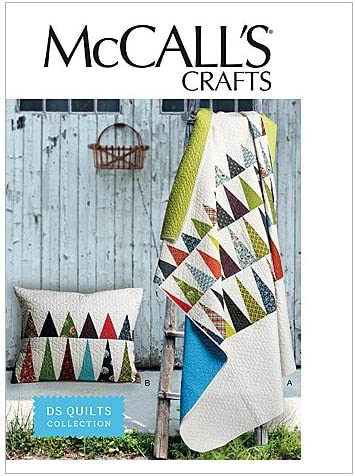 One Size Only by McCall Pattern Company McCalls Patterns M6482 Pillows and Quilt