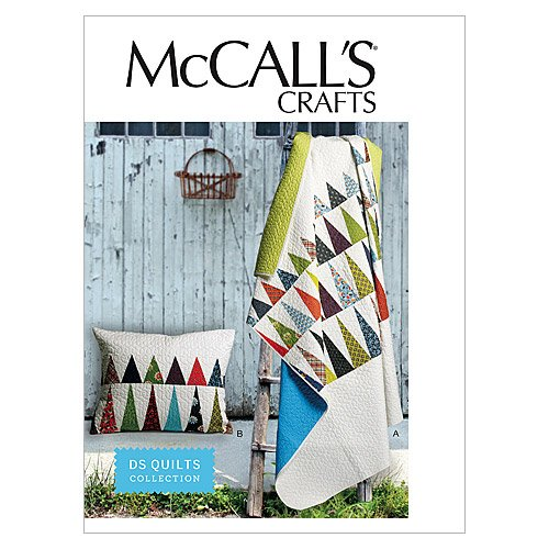 McCall's Patterns M6483 Sham and Quilt, One Size Only
