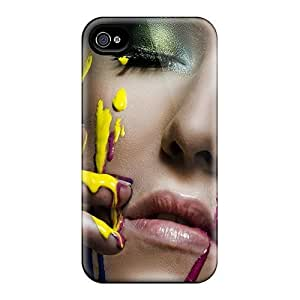 Fashion Protective Painted Face Case Cover For Iphone 4/4s