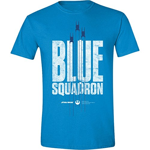 Star Wars Rogue One T-Shirt Blue Squadron Size L CODI shirts