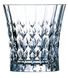 luminarc made in france - Luminarc Arc International Lady Diamond Diamax Old Fashioned Glass (Set of 6), 9 oz, Clear