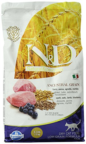 Farmina Natural and Delicious Lamb and Blueberry Low-Grain F