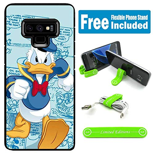 - for Galaxy Note 9 Hybrid Rugged Hard Cover Case - Donald Duck Mad Walking