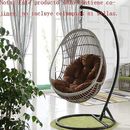 Mississ - Columpio para Colgar en el Carro con Amortiguador de Asiento, Amortiguador de Asiento para jardín, 90 x 120 cm, Solo cojines, no sillas: Amazon.es: Hogar