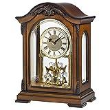 Bulova–B1845Durant Viejo Mundo Reloj, Acabado de Madera de Nogal