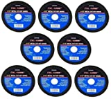 8 PC 4 1/2'' Cut Off Wheel For Metal Cutting Disc Grinders 1/16'' Thickness