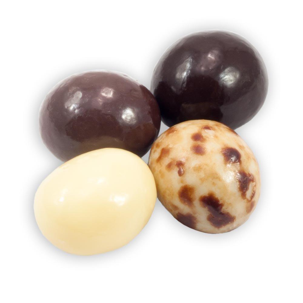 Chocolate Espresso Bean Blend - White, Milk & Dark Chocolate - 5lb Bag - by Dilettante (5 Pound)