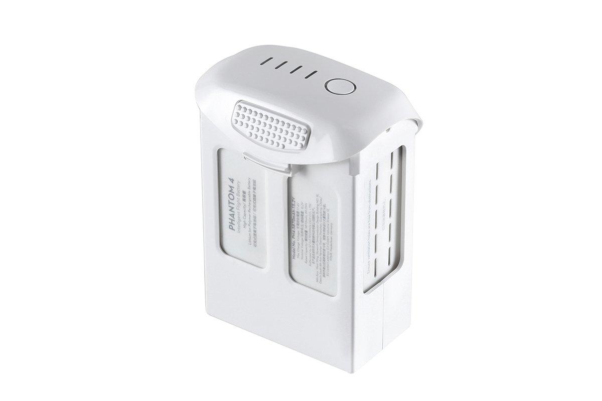 DJI High Capacity Phantom 4 Series P4-Intelligent Flight Battery, White (CP.PT.000601)