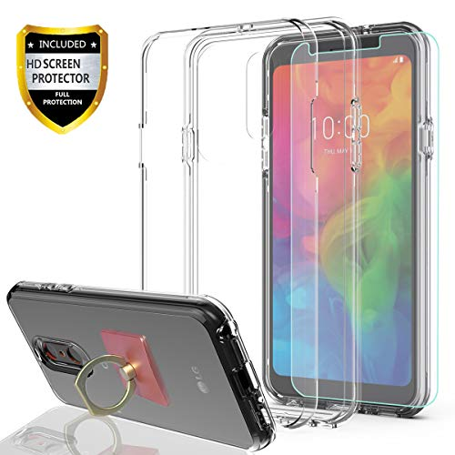 LG Q7 Case, LG Q7 Plus Case with HD Screen Protector with