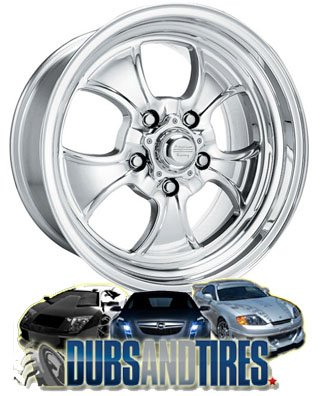 15 Inch 15x8 American Racing wheels wheels HOPSTER Polished wheels rims