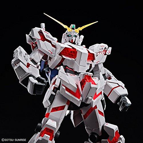 Bandai Hobby Mega Size 1/48 Unicorn Gundam [Destroy Mode] Gundam UC Model Kit Figure by Bandai Hobby (Image #5)