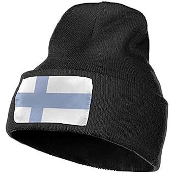 quariryw Finland Flag Beanie Hat Toddler Winter Warm Knit