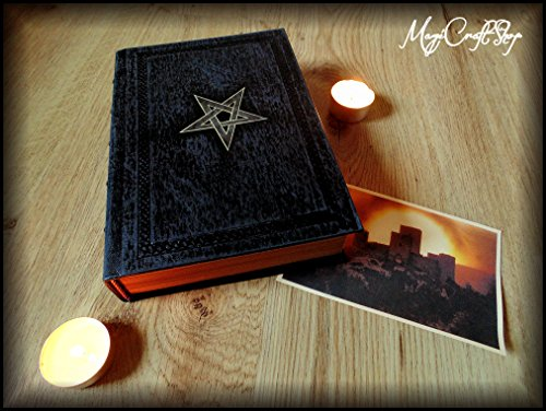Replica NINTH GATE TO THE KINGDOM OF SHADOWS with latin pages - Medium size 22x16 cm - DELUXE VERSION by MagiCraftShop USA
