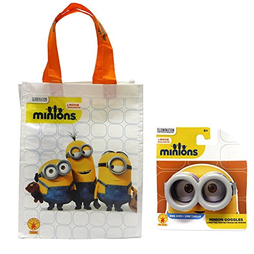 Kevin The Minion Child Costumes (Minions Trick-or-Treat Bag & Goggles Set)
