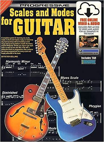 Amazon com: 69058 - Progressive Scales and Modes for Guitar