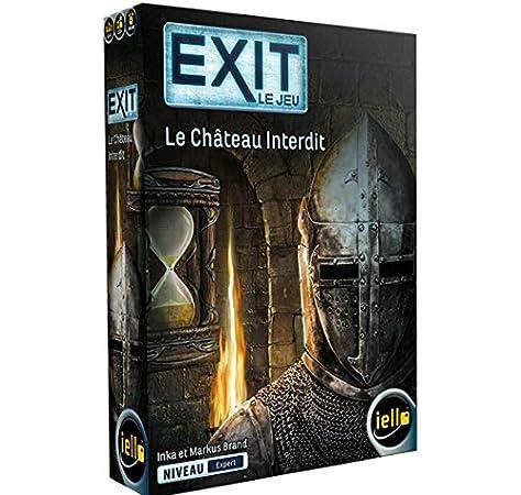 iello-IELLO-51492-EXIT : Le Chateau Interdit, Multicolor (51492): Amazon.es: Juguetes y juegos