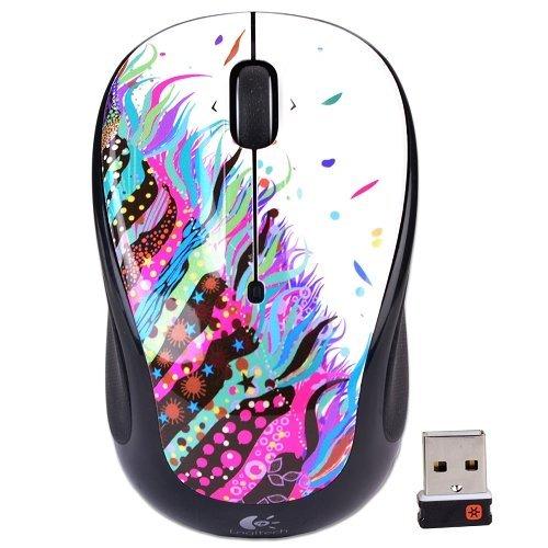 Logitech Wireless Mouse Celebration Black