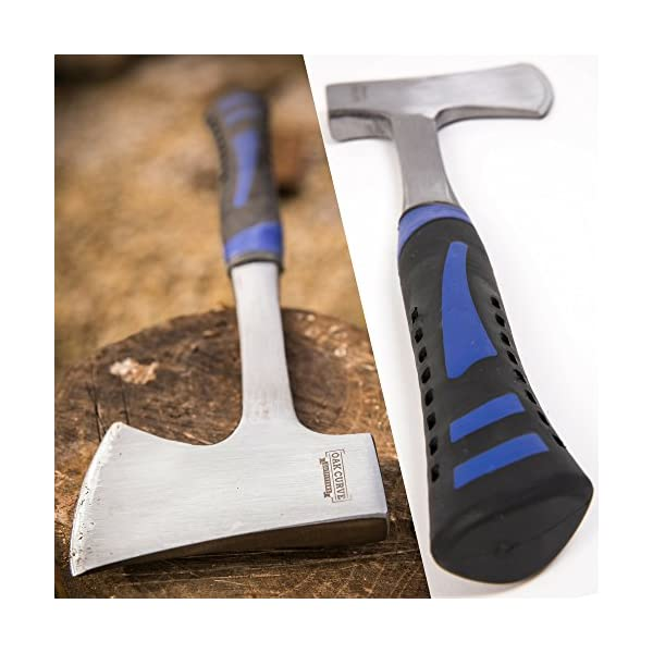 Oak Curve Outfitters Camp Axe with Sheath - 14 Inch Small