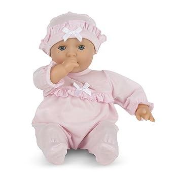 Amazon Com Melissa Doug Mine To Love Jenna 12 Inch Soft Body Baby