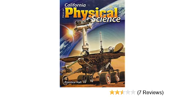 Focus on physical science california edition california science focus on physical science california edition california science explorer pearson prentice hall 9780132012706 amazon books fandeluxe Image collections