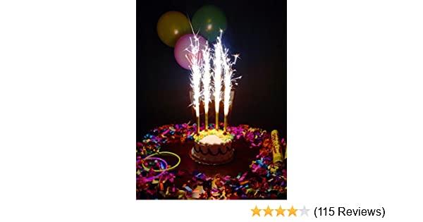 Amazon Birthday Wedding Bottle Cake Party Candles Smokeless 1 Pack 4 Pcs Office Products
