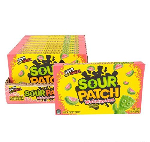 SOUR PATCH WATERMELON THEATER BOX CANDY 12PC/CASE, Case of 9 by DollarItemDirect (Image #3)