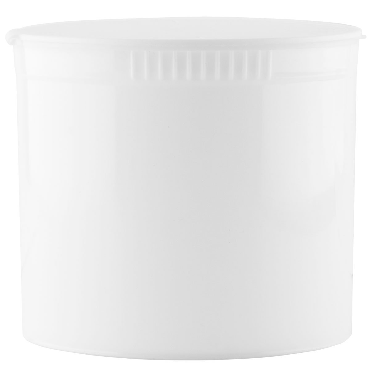 Child Resistant Pop Top Containers - 1 Case (White, 90 Dram)