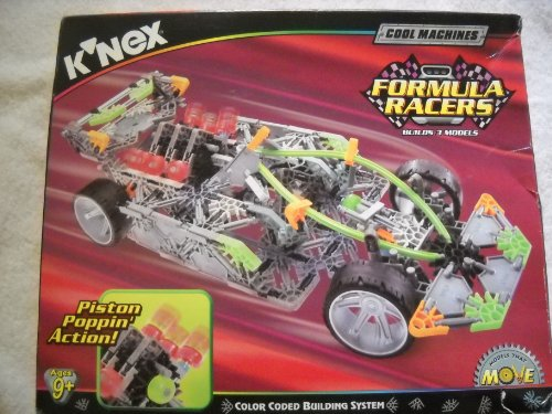 Knex Racers (K'Nex Cool Machines Formula Racers Building Set)