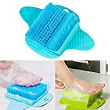 OUNONA Foot Scrub Brush - Removing Exfoliating Brush Shower Foot Scrubber Cleaner Washer Foot Massage Brush (Random Color)