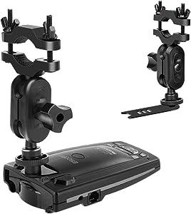 MvToe Car Rear View Mirror Radar Detector Mount for Escort Passport 9500ix 9500i 8500 7500 X50 X70 X80 Solo SC S2 S3 S4 s75 55 Beltronics RX65 GX65 Red (Not for Escort IX & MAX Series)