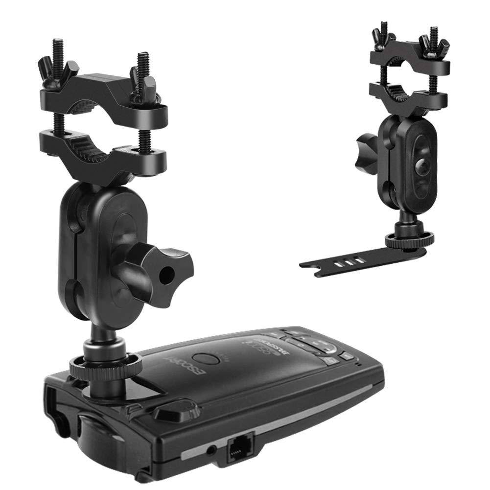 MvToe Car Rear View Mirror Radar Detector Mount for Escort Passport 9500ix 9500i 8500 7500 X50 X70 X80 Solo SC S2 S3 S4 s75 55 Beltronics RX65 GX65 Red (Not ...