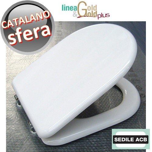 Sedile per wc SFERA Catalano marca ACB linea GOLD