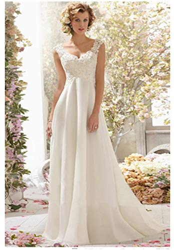 738555a1bb404 結婚式 ウエディングドレス パーティードレス 二次会ドレス ファスナー お花嫁ドレス ロングドレス エンパイアドレス