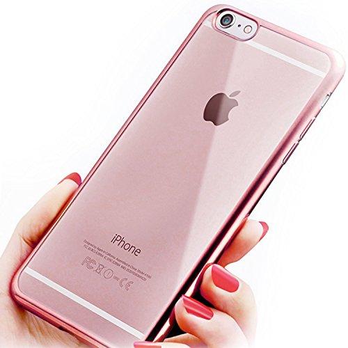 coque iphone 7 antichoc rose