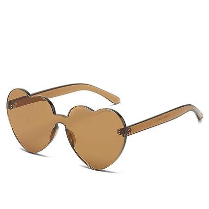QYS 13 Colores Amor en Forma de corazón Gafas de Sol Moda ...