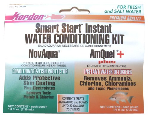 KORDON  #31309   NovAqua Plus  & AmQuel Plus  Water Conditioning Kit; .25-ounce